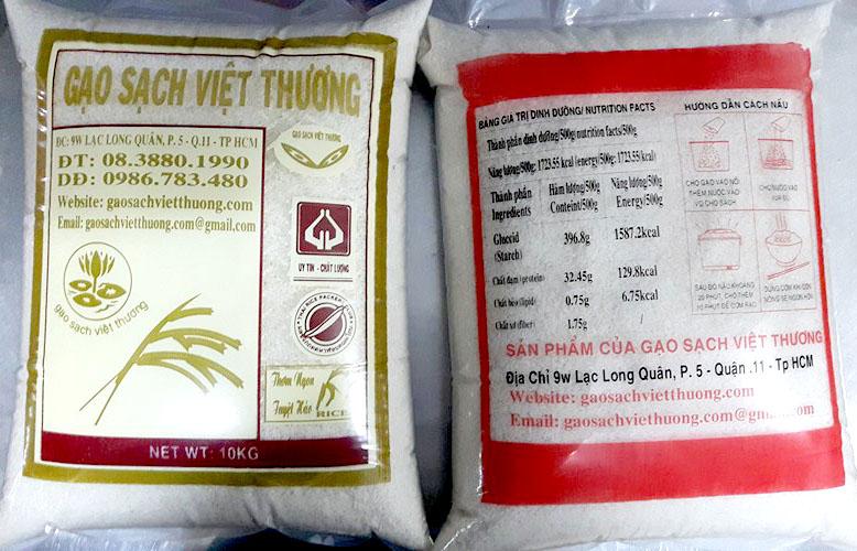 Cần mua gạo làm từ thiện hãy gọi đại lý gạo sạch Việt Thương HCM 02